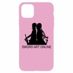 Чохол для iPhone 11 Pro Asuna and Kirito