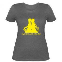 Жіноча футболка Asuna and Kirito