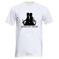 Чоловіча спортивна футболка Asuna and Kirito