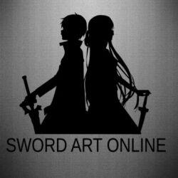 Наклейка Asuna and Kirito