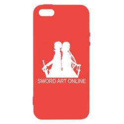 Чохол для iphone 5/5S/SE Asuna and Kirito