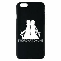 Чохол для iPhone 6/6S Asuna and Kirito