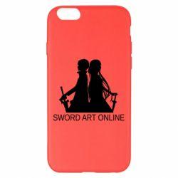 Чохол для iPhone 6 Plus/6S Plus Asuna and Kirito