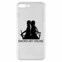 Чохол для iPhone 7 Plus Asuna and Kirito