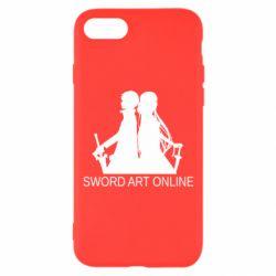 Чохол для iPhone 8 Asuna and Kirito
