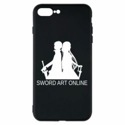 Чохол для iPhone 8 Plus Asuna and Kirito