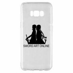 Чохол для Samsung S8+ Asuna and Kirito