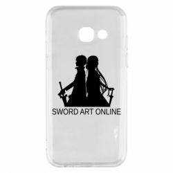 Чохол для Samsung A3 2017 Asuna and Kirito