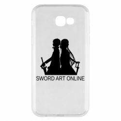 Чохол для Samsung A7 2017 Asuna and Kirito