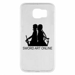 Чохол для Samsung S6 Asuna and Kirito