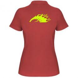 Женская футболка поло At speed