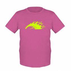 Детская футболка At speed