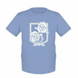 Дитяча футболка Атака на титанів, емблема