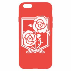Чохол для iPhone 6/6S Атака на титанів, емблема