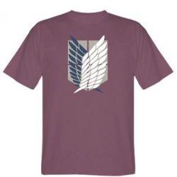 Чоловіча футболка Атака титанів