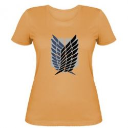 Жіноча футболка Атака титанів