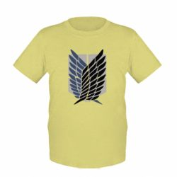 Дитяча футболка Атака титанів