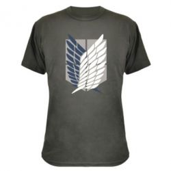 Камуфляжна футболка Атака титанів
