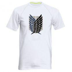 Чоловіча спортивна футболка Атака титанів