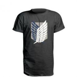 Подовжена футболка Атака титанів