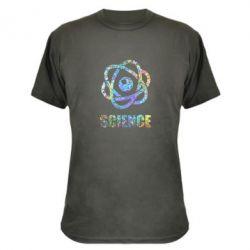 Камуфляжна футболка Atom science
