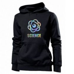 Толстовка жіноча Atom science