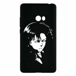 Чехол для Xiaomi Mi Note 2 Attack on Titan: Levi Ackermann