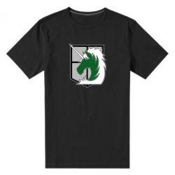 Чоловіча стрейчева футболка Attack on Titan symbol