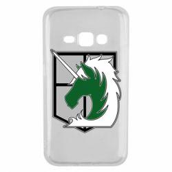 Чохол для Samsung J1 2016 Attack on Titan symbol