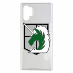 Чохол для Samsung Note 10 Plus Attack on Titan symbol