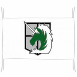 Прапор Attack on Titan symbol