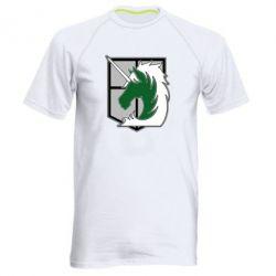 Чоловіча спортивна футболка Attack on Titan symbol