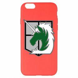 Чохол для iPhone 6 Plus/6S Plus Attack on Titan symbol