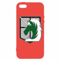 Чохол для iphone 5/5S/SE Attack on Titan symbol