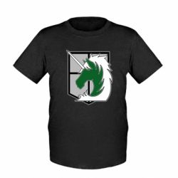 Дитяча футболка Attack on Titan symbol