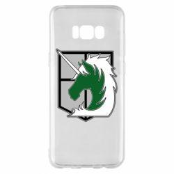 Чохол для Samsung S8+ Attack on Titan symbol