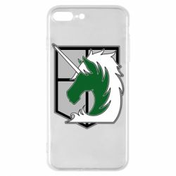 Чохол для iPhone 8 Plus Attack on Titan symbol