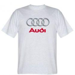 Мужская футболка Audi 3D Logo - FatLine