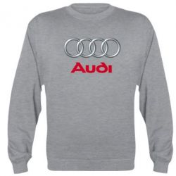 Реглан (свитшот) Audi 3D Logo - FatLine