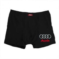 Мужские трусы Audi 3D Logo - FatLine