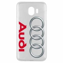 Чохол для Samsung J4 Audi 3D Logo