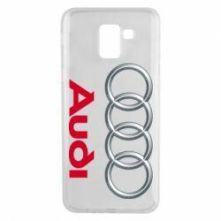 Чохол для Samsung J6 Audi 3D Logo