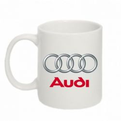 Кружка 320ml Audi 3D Logo - FatLine