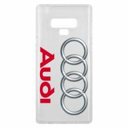 Чохол для Samsung Note 9 Audi 3D Logo