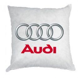 Подушка Audi 3D Logo - FatLine