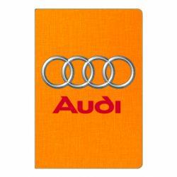 Блокнот А5 Audi 3D Logo