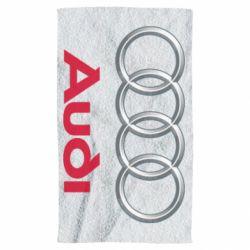 Рушник Audi 3D Logo