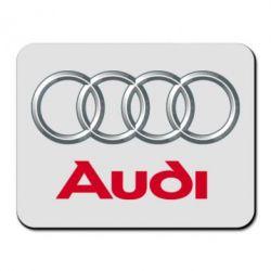Коврик для мыши Audi 3D Logo - FatLine