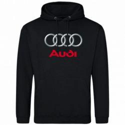 Мужская толстовка Audi 3D Logo - FatLine
