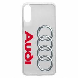 Чохол для Samsung A70 Audi 3D Logo
